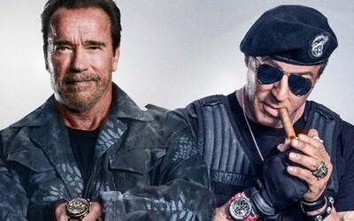Expendables přichází o další podstatnou postavu. Arnold Schwarzenegger bez Stallona ve filmu hrát nebude