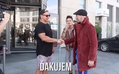 Expl0ited a PPPíter si vystrelili z amerického youtubera Vitalyho. Kráľ prankov sa zľakol a ušiel