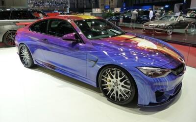 Extravagantné BMW M4 od firmy Hamann: 517 koní a farebná explózia v exteriéri
