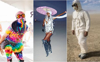 Extravagantné, uletené a miestami až šialené. Také boli outfity účastníkov Burning Man 2016
