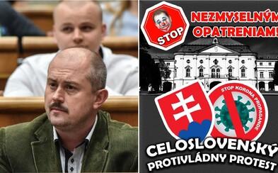Extrémisti Kotleba a Mazurek podporujú demonštráciu proti Matovičovi a opatreniam. Na Slovensku však platí zákaz zhromažďovania
