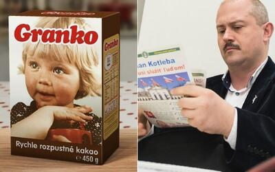 Extrémistická ĽSNS zneužila značku Granko na politickú kampaň, bez dovolenia použila fotografiu malého dieťaťa