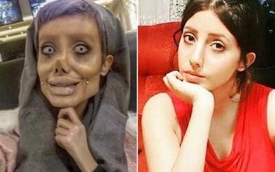 Extrémna dvojníčka Angeliny Jolie oklamala celý internet. Jej tvár nezdeformovali plastické operácie, ale mejkap a Photoshop