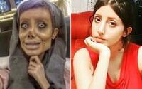 Extrémní dvojnice Angeliny Jolie oklamala celý internet. Její tvář nezdeformovaly plastické operace, ale makeup a Photoshop