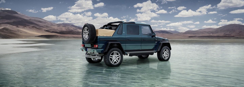 Extrémní Mercedes-Maybach G 650 Landaulet je nejexkluzivnější automobil bez střechy na světě!