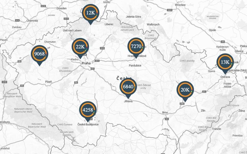 Zajímá tě, kolik trestných činů se stalo ve tvé obci? Policie zveřejnila mapu kriminality.