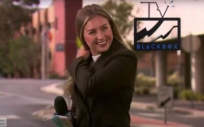 F**k my life, nadávala reportérka v živém vysílání. Od šéfa dostala druhou šanci a může opět pracovat.