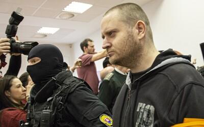 Vrah Jana Kuciaka a Martiny Kušnírové je spokojen s trestem 23 let. Nejvyšší soud může rozhodnout o vyšším trestu.