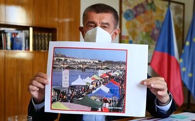 Česko čekají další přísnější restrikce. Pokud se nestane zázrak, přitvrdíme, říká Babiš.