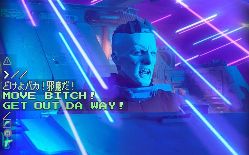 V novom klipe Future Baby od Die Antwoord sa Ninja vracia na Zem v roku 2198. Jeho japonská robomama ho núti, aby sa rozmnožoval.