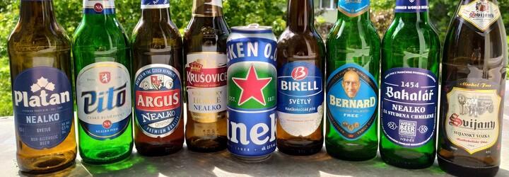 """Je lepší """"nejlepší české nealko pivo"""" nebo pivo privátní značky z řetězce? Vyzkoušeli jsme všechna nealko piva v obchodech"""