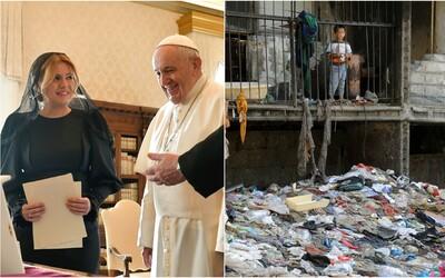Danko sa obul do Čaputovej: Je ponižujúce, že pápežovi chcete namiesto našich tradícií ukázať ruiny Luníka IX.