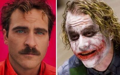 Joaquin Phoenix si možná zahraje Jokera v sólovce, která přiblíží, jak se z Batmanova protivníka stal geniální kriminálník