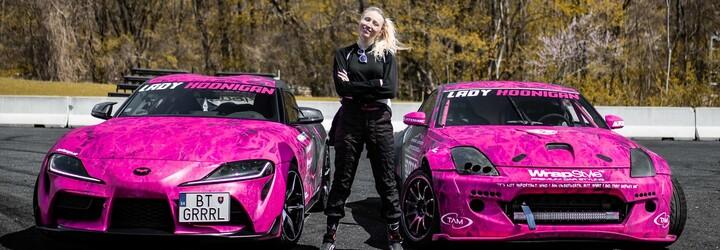 Slovenská driftérka Nina Zagoždžon: Pre zvuk a nevšedný vzhľad môjho auta som tŕňom v oku polície (Rozhovor)