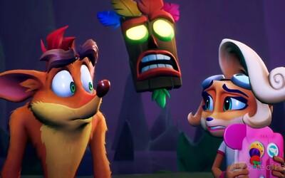Crash Bandicoot 4 vychází už za pár dní. Nejnovější trailer láká na nejlepší skákačku roku, při které zlomíš ovladač.