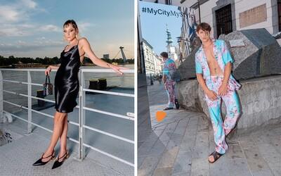 Na Slovensko prichádza nový e-shop s módou. Módne kúsky predviedli v Bratislave známi influenceri