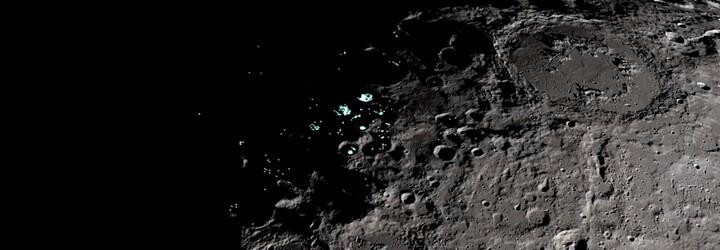 Prohlédněte si Měsíc ve 4K rozlišení. Dobrá kvalita přináší detaily pólů i známých kráterů