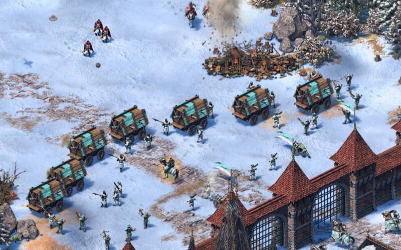 V Age of Empires 2 si budeš moci zahrát za Čechy. Po více než 20 letech ti legendární videohra nabídne vozové hradby i Jana Žižku.