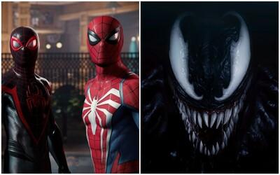 Kratos vs. Thor v God of War 2 a Spider-Man proti Venomovi s Milesom Moralesom. Sleduj odhalenie budúcnosti hier na PS5