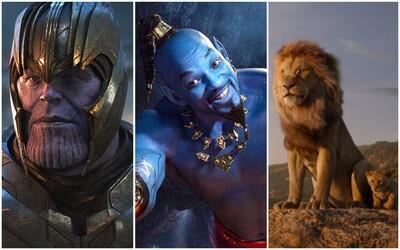 Ktorých 10 filmov zarobilo v roku 2019 v kinách najviac? Disney vydávalo jeden miliardový hit za druhým