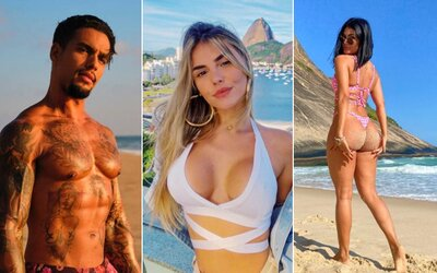 Toto je 12 nadržancov z pikantnej brazílskej verzie Too Hot to Handle. Z ich Instagramov máš pocit, že existujú len bikiny