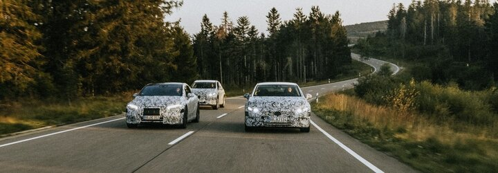 Mercedes-Benz chystá elektrickou ofenzívu. Elektromobily EQA, EQB, EQE či EQS klepou na dveře