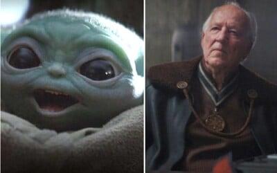 Herec Werner Herzog režíroval Baby Yodu jako skutečného herce. Robotická panenka ho prý dokonce rozplakala