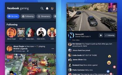 Facebook chce konkurovať Twitchu, hry sa budú streamovať cez novú aplikáciu pre mobily