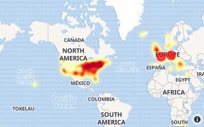 Facebook má celosvětový výpadek