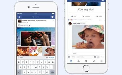 Facebook má tlačidlo na komentovanie GIF obrázkom. Stačí si vybrať z ponuky a diskusia bude pestrejšia