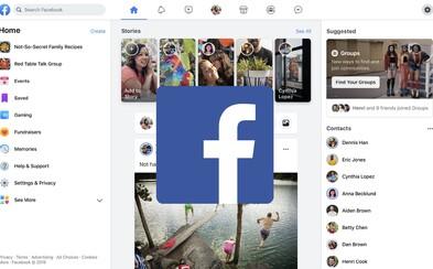 Facebook mení svoje ikonické logo. Výrazne prerobil aj dizajn celej stránky či funkcie v Messengeri