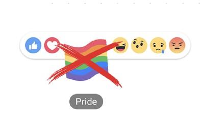 Facebook opäť čelí kritike používateľov. Ľuďom sa nepáči, že zrušil dúhovú reakciu na príspevky počas mesiaca LGBTI