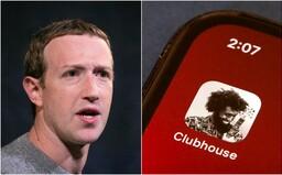 Facebook opět kopíruje? Zuckerberg údajně pracuje na aplikaci, která má konkurovat Clubhousu