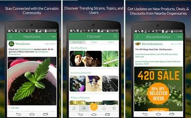 Facebook pre užívateľov marihuany: Diskutuj, spoznávaj a prezeraj v aplikácii MassRoots