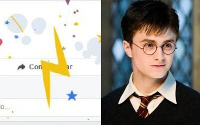 Facebook si pro fanoušky Harryho Pottera připravil překvapení. Pokud oblíbenou ságu zmíníš, sociální síť změní atmosféru