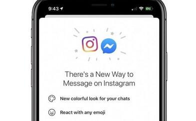 Facebook spojí chaty Instagramu a Messengeru, uvidíš je v jedné aplikaci