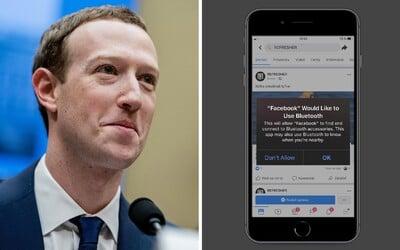 Facebook tě prý sleduje přes Bluetooth. Podle odborníků tak obchází zákaz sledování polohy