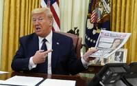 Facebook, Twitter a TikTok blokují příspěvky, v nichž uživatelé přejí smrt americkému prezidentu Trumpovi