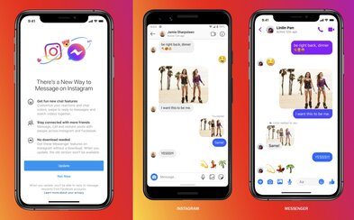 Facebook začína zlučovať správy z Messengera a Instagramu. Takto budú tvoje DM vyzerať už čoskoro