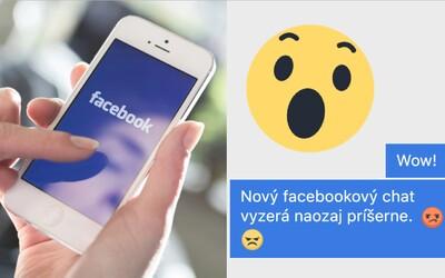 Facebook zmenil zobrazovanie správ v chate. Modré bublinky už na počítači nenájdeš