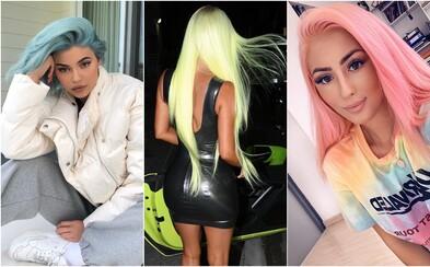 Faded pink, horčicová či blankytná modrá. Aké farby vlasov budú v kurze v roku 2019?