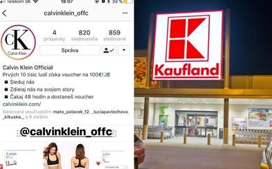 Falošné Tesco, ASOS či Kaufland ponúkajú stovky eur. Instagram je preplnený podvodnými súťažami, ktoré zdieľa plno tvojich kamarátov