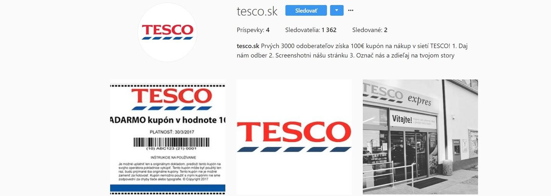 Falešné Tesco, ASOS nebo Kaufland nabízí tisíce korun. Instagram ovládly podvodné soutěže, které sdílí plno tvých kamarádů