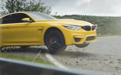 Famózne 460-koňové BMW M4 CS sa v parádnom videu ukázalo v tom najlepšom svetle