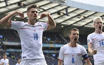 Famózní gól Patrika Schicka z poloviny hřiště proti Skotsku byl vyhlášen nejlepší brankou Eura 2020