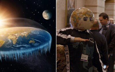 Fanoušci placaté Země si nechtěně vyvrátili svoji teorii ve vlastním dokumentu