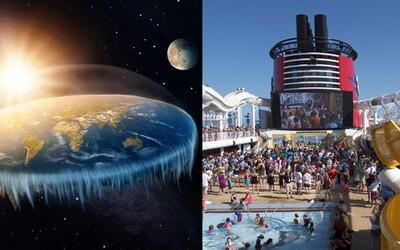 Fanoušci ploché Země organizují velkou zaoceánskou plavbu. Chtějí doplout na okraj planety
