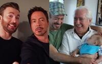 Fanoušci spojují Roberta Downeyho Jr. a Chrise Evanse do manželského svazku. Herci to ale nevadí