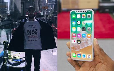 Fanoušek kempuje před Apple prodejnou 10 dní, aby si nový iPhone koupil jako první. Místo by nevyměnil ani za 50 tisíc dolarů