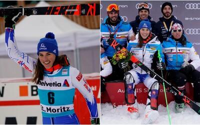 Fantastická Peťa Vlhová skončila na 2. mieste v paralelnom slalome Svetového pohára